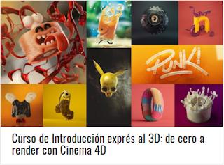 Curso de Introducción exprés al 3D: de cero a render con Cinema 4D