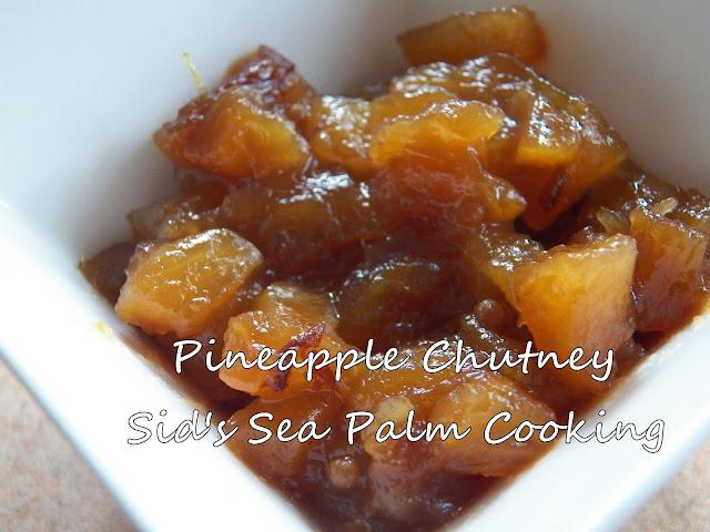Pineapple Chutney