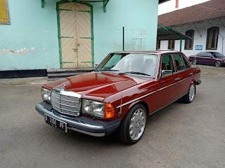 Dijual Mercedes benz W123 200 TA 1984.