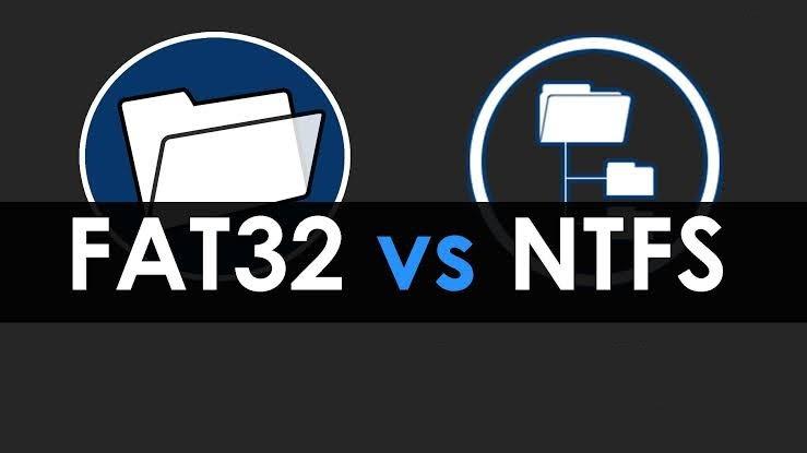 Perbedaan dari NTFS dengan FAT32