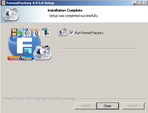 Hướng dẫn cách cài đặt Format Factory nhanh Trên PC Win 7 d