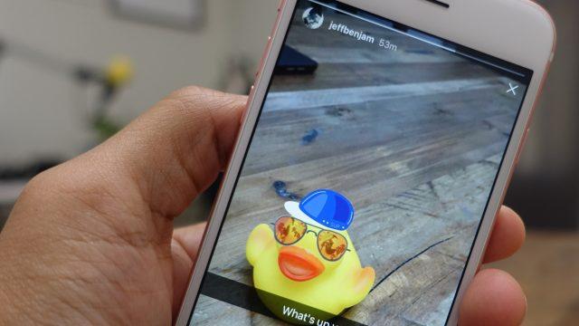 Menambahkan Snapchat Snap ke Instagram Stories