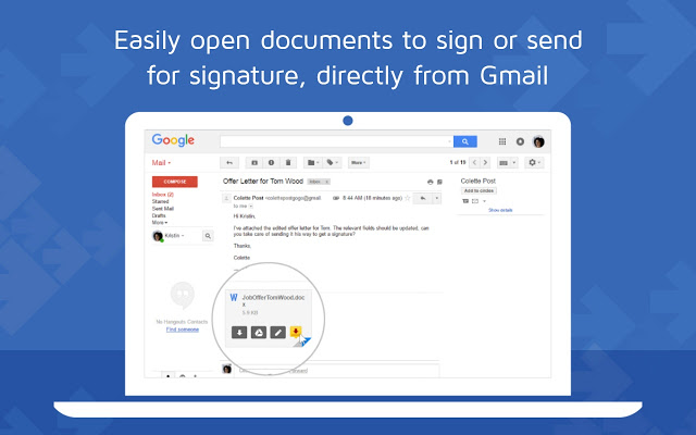 DocuSign – Electronic Signature for Gmail