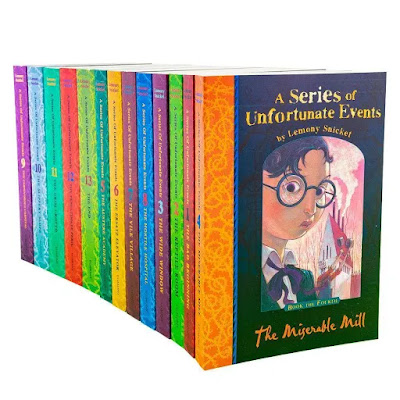 A Series of Unfortunate Events by 13 Book Set