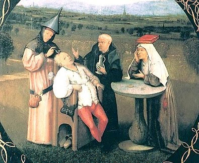 Hieronymus Bosch: 'The Extraction of the Stone of Madness'