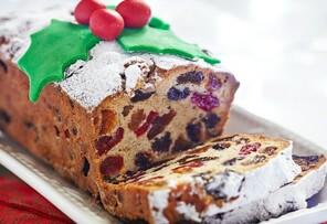 Dulce de frutas de navidad