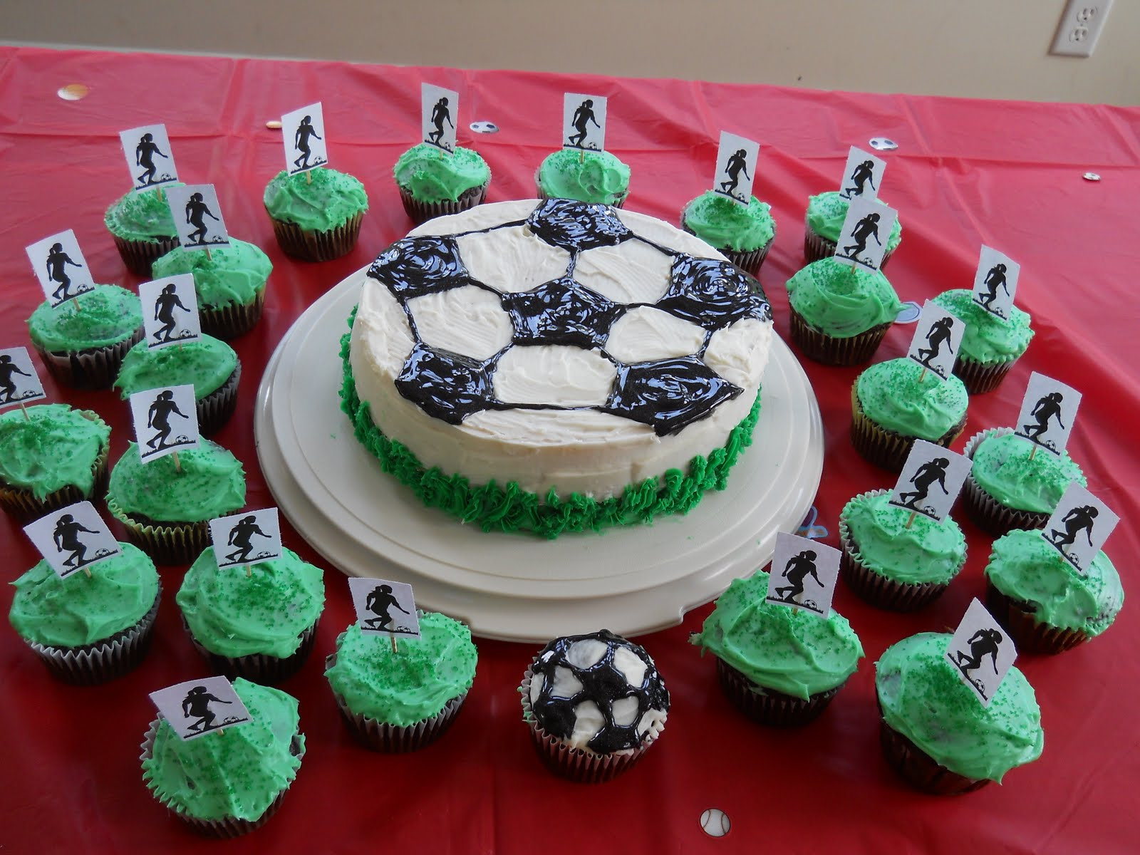 Soccer Cake Decorating Ideas