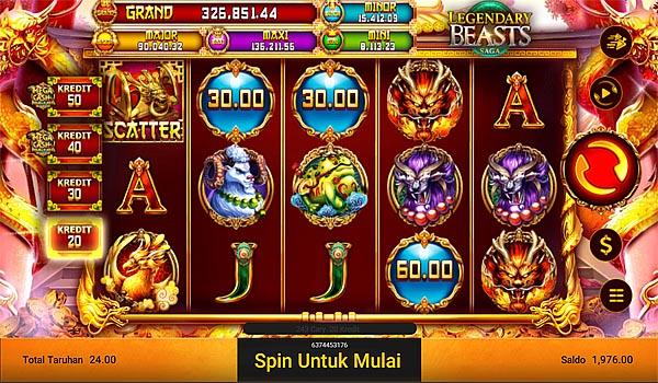 Main Gratis Slot Indonesia - Legendary Beasts Saga Spadegaming