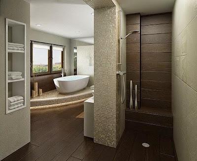 Chọn gạch để tạo điểm nhấn cho không gian tắm