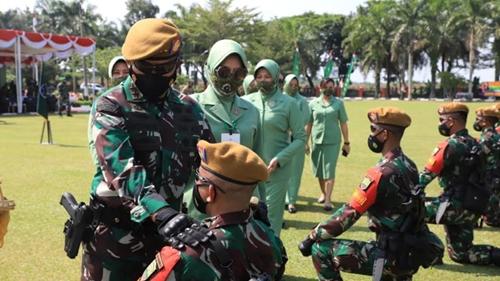 Pangdam I/BB Pimpin Upacara Pemberangkatan Satgas Operasi Pamrahwan Maluku dan Maluku Utara