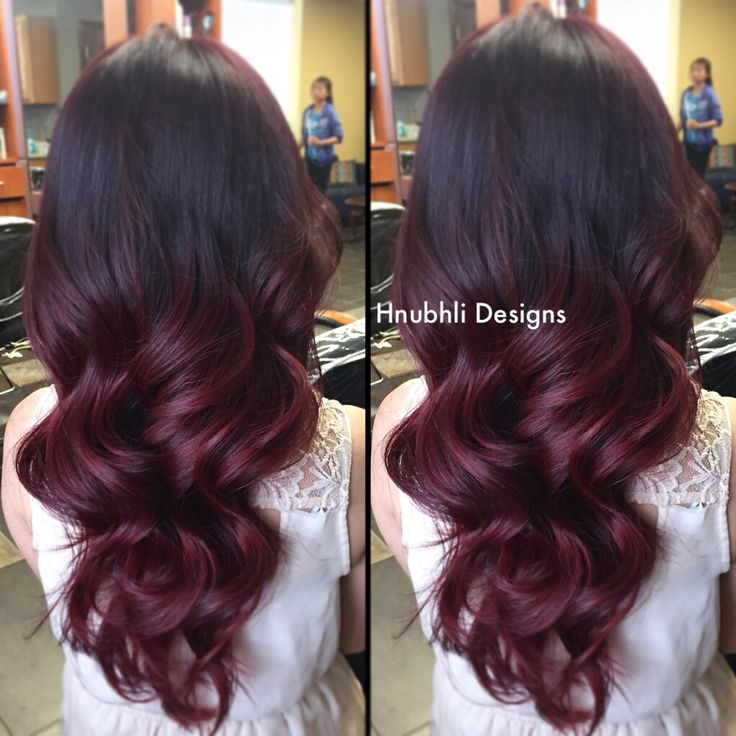 Ombre Hairstyles in Red! - The HairCut Web