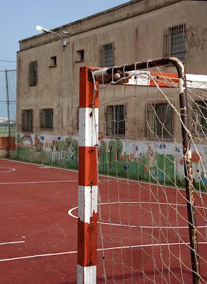 Urban Landscape Cumbuco Brazil football goal 2014