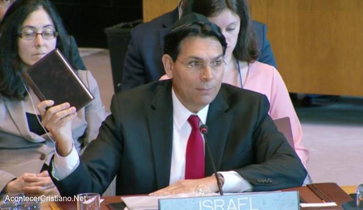 Embajador israelí ante la ONU Danny Danon