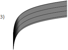 paralelogramo exótico logarítmico