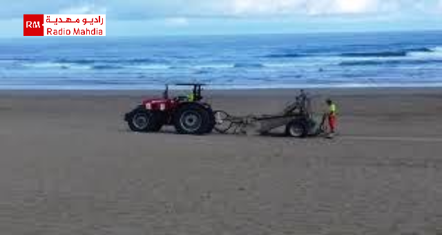 المهدية : وكالة حماية الشريط الساحلي تنطلق في تنظيف الشواطئ