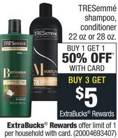 FREE Tresemme Shampoo CVS Deal 1110-1116