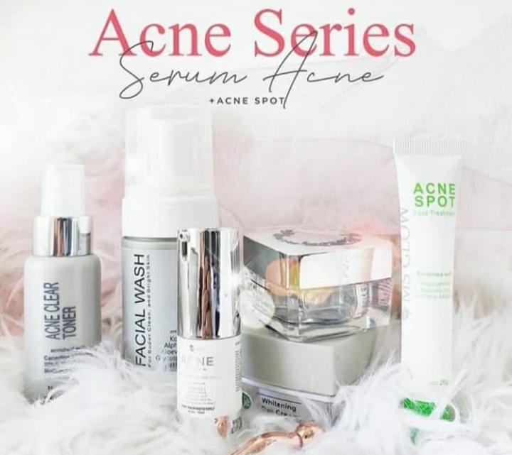 Paket lengkap ms glow acne series