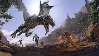Elder Scrolls Online: Elsweyr PS Vita Wallpaper