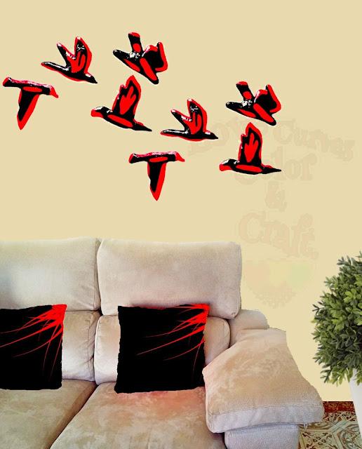 Decoracion-con-aves-decorativas