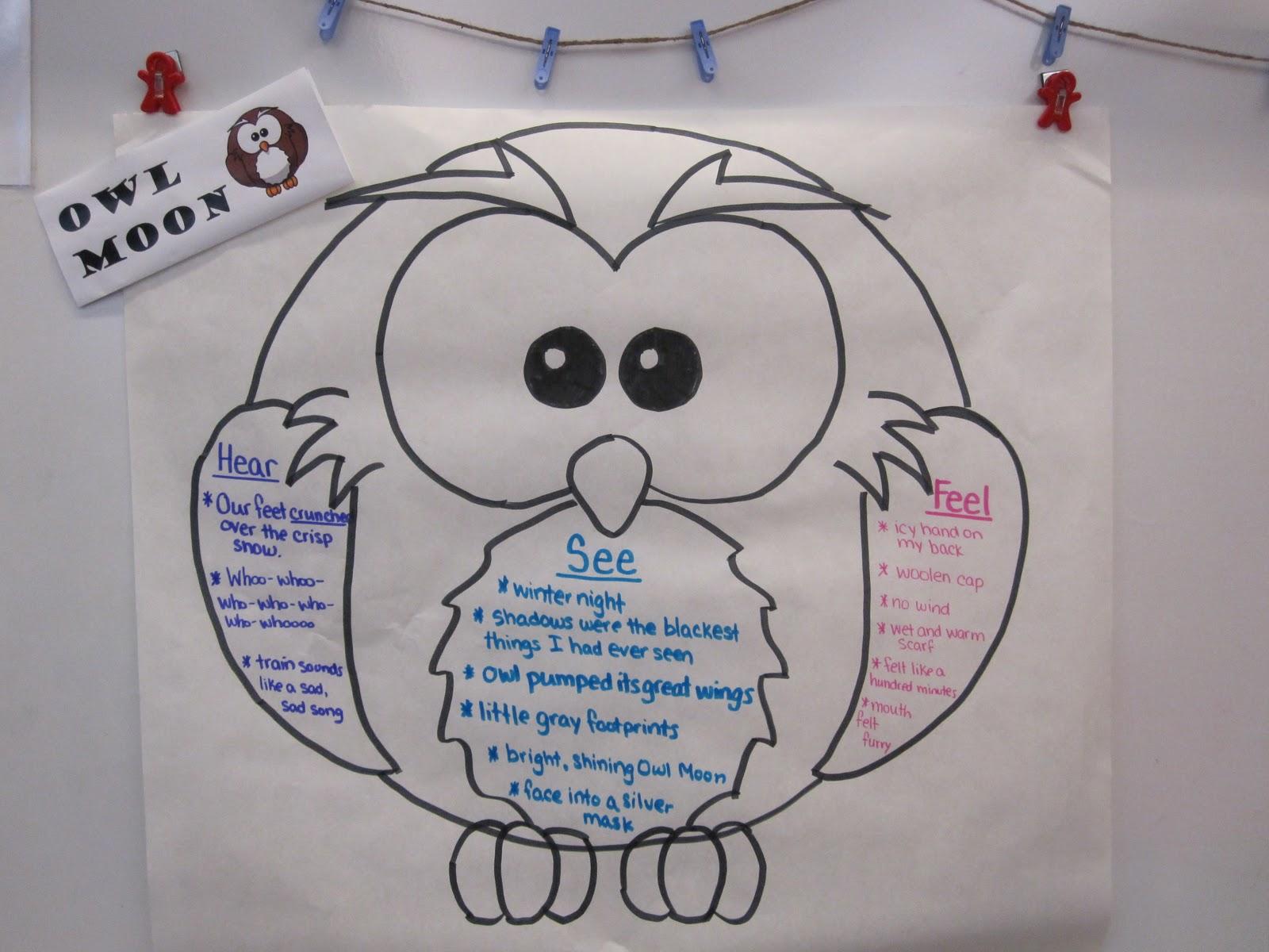 A Is For Apple Kindergarten Owl Moon Unit Mentor Text