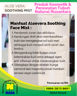 Aloevera Soothing Face Mist