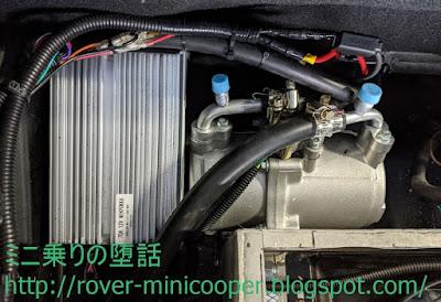 中国製 電動コンプレッサーカーエアコンキット 電動コンプレッサー