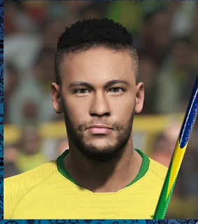 PES 2018 Faces Neymar Jr by Jonathan Facemaker