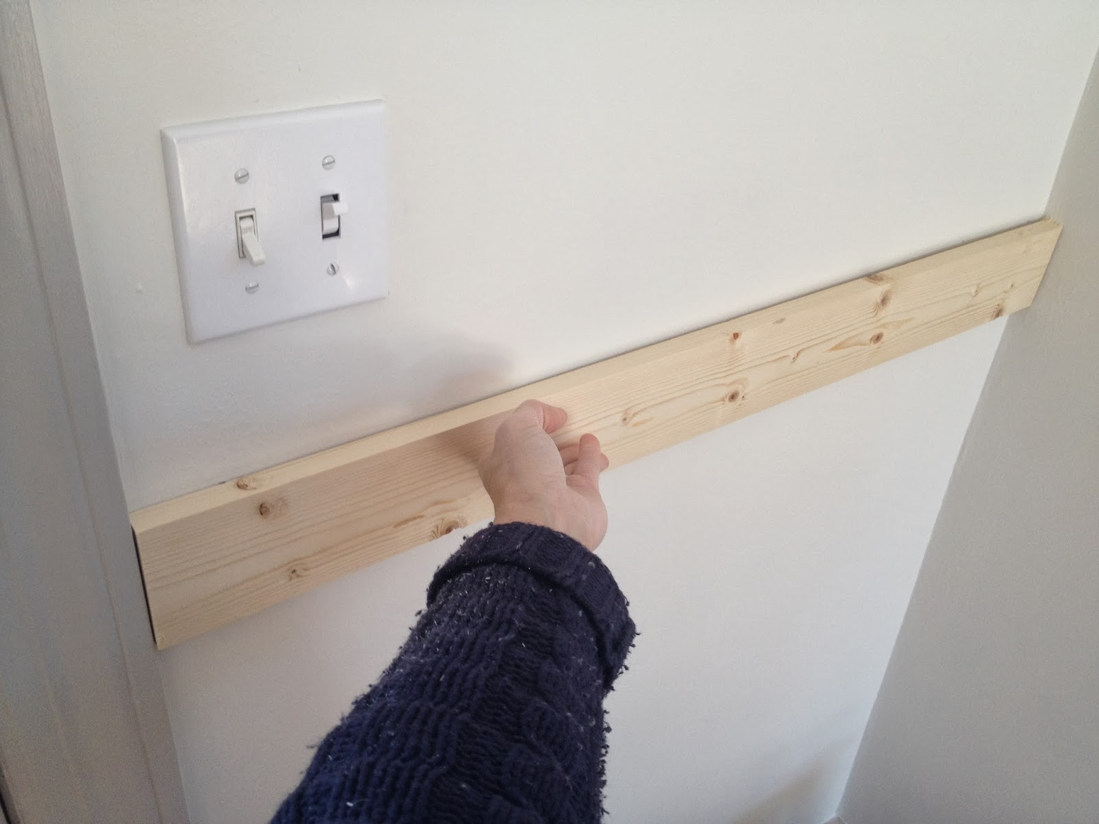 measure pine board