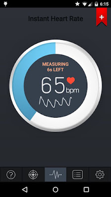 Measure Heart Beat Rate from Android
