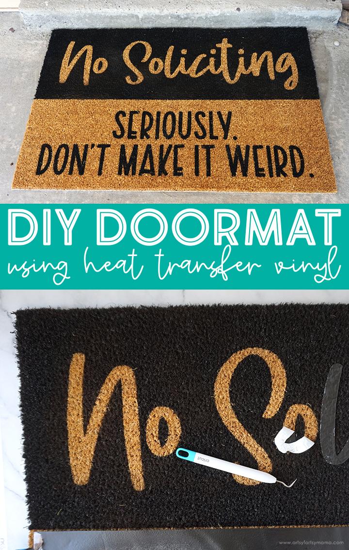 DIY Doormat with Cricut Maker 3