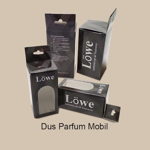 Cetak Dus Parfum Mobil