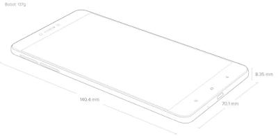 Dimensi Xiaomi Redmi 5A