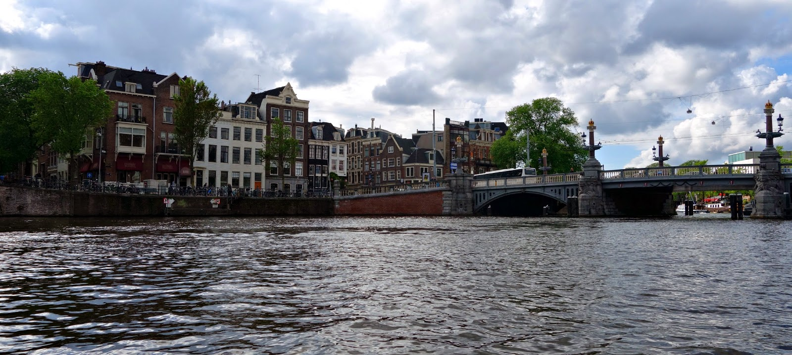 Amsterdam | View from the Canal - The Healthy Passport