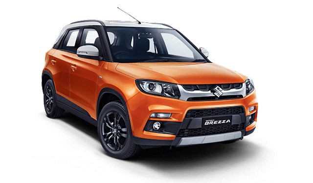 Best suv in India under 10 lakhs , maruti vitara brezza