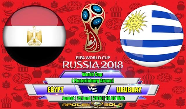 Prediksi Egypt vs Uruguay 15 Juni 2018