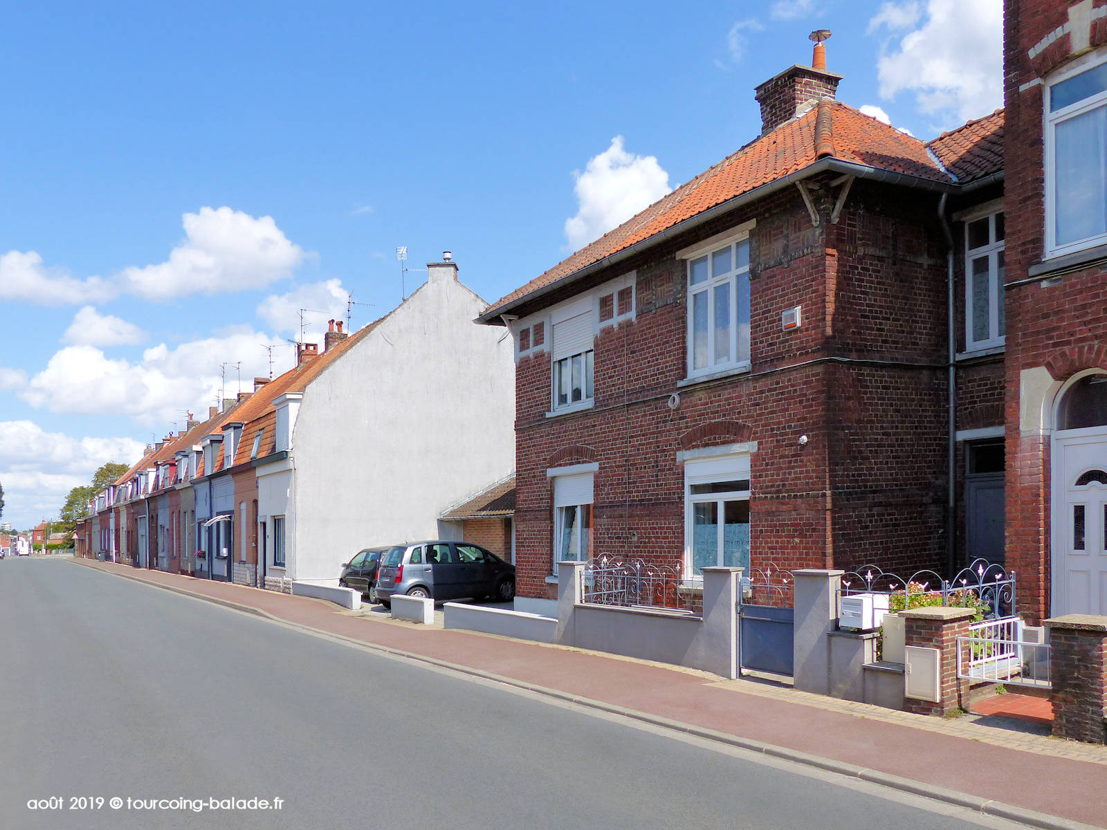 Maisons Patrimoniales, Rue du Blanc Seau, Tourcoing 2019