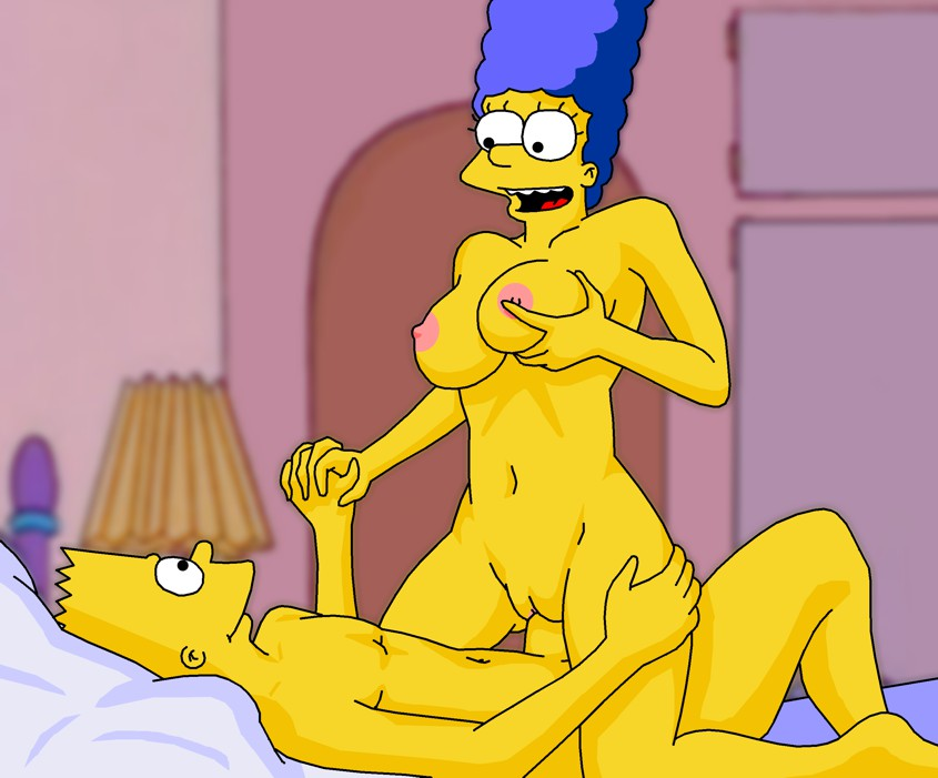 Bart and marge simpson sex