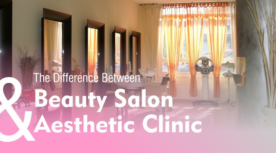 the differences characteristics similarity beauty salon and beauty clinic