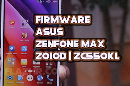 Firmware Asus Zenfone Max | Z010D | ZC550KL | Raw | Fastboot | QFIL