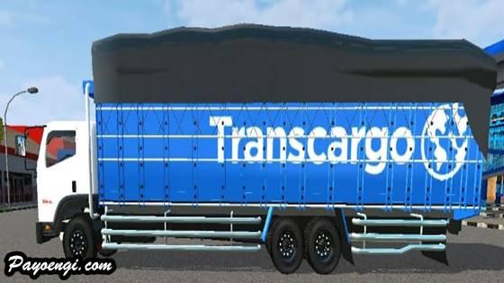 mod bussid truck isuzu giga tronton long bak