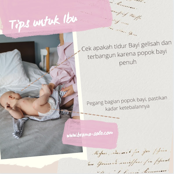 Berikut ini cara mengetahui kapankah bayi harus mengganti popoknya.