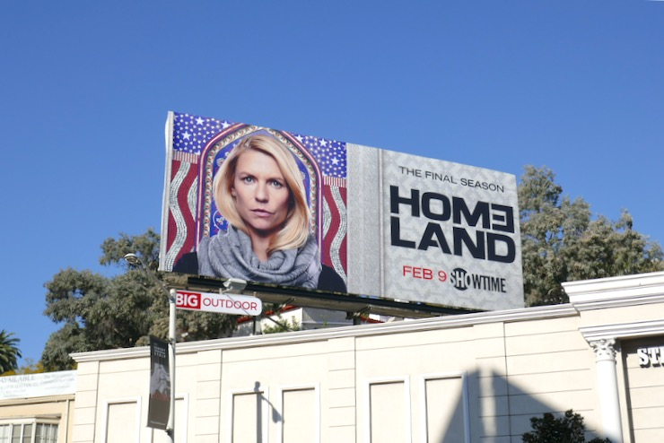 Homeland final season billboard