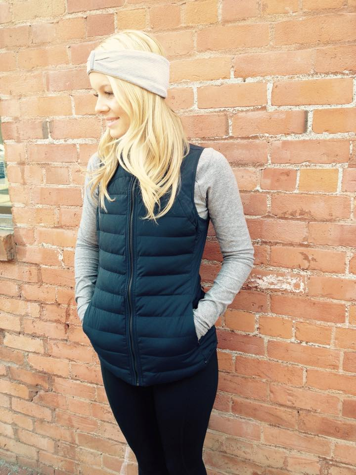 luluemon fluffed up vest