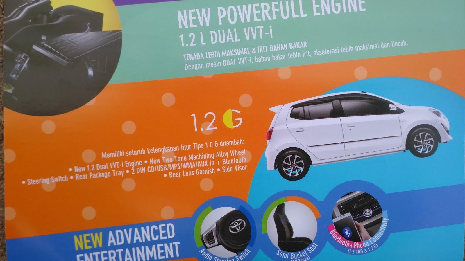 new agya g vs trd kelemahan grand veloz spesifikasi toyota facelift 1200 cikarang promo