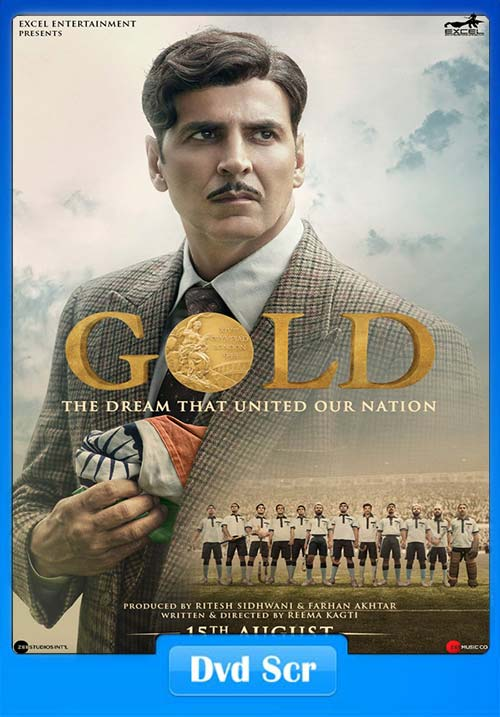 Gold 2018 Hindi DVDScr x264 | 480p 300MB | 100MB HEVC Poster