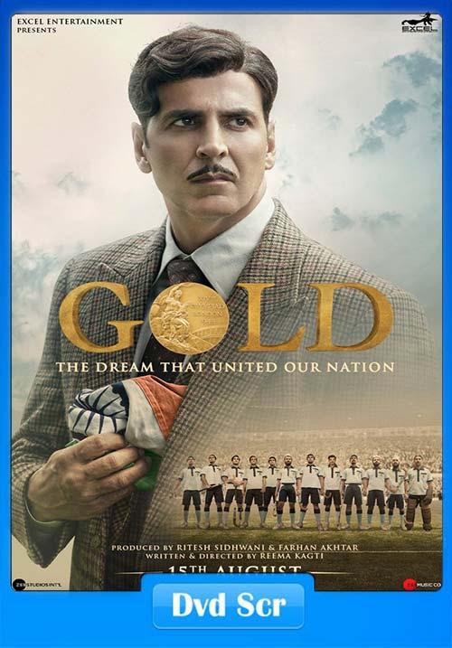 Gold 2018 Hindi DVDScr x264 | 480p 300MB | 100MB HEVC
