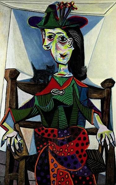 """Pablo Picasso - """"Retrato de Dora Maar"""