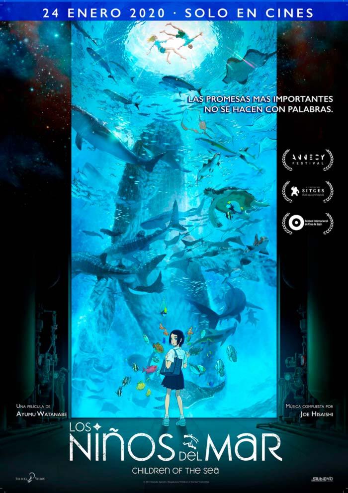 Los niños del mar (Kaijuu no Kodomo) anime - Selecta Visión