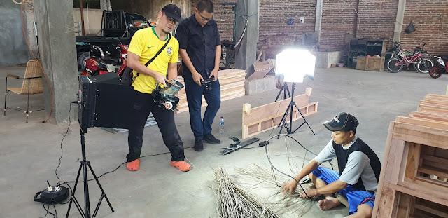 Behind The Scne Pembuatan Corporate Profile Video PT. Luck One Living oleh ANRILFILM
