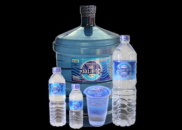 Quarter Air Minum Asli Kalimantan